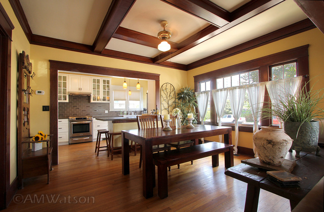 Mission Hills Bright Open Bungalow Dining Room