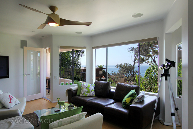 La Jolla Living Room View