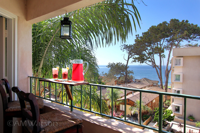 La Jolla Porch Ocean View