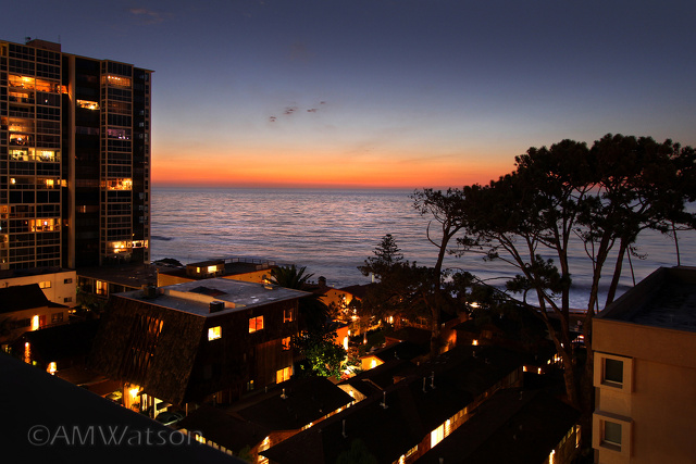 La Jolla Cove Twilight View