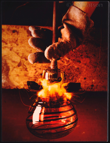 Glassblower, Creative Corporate Development Concept